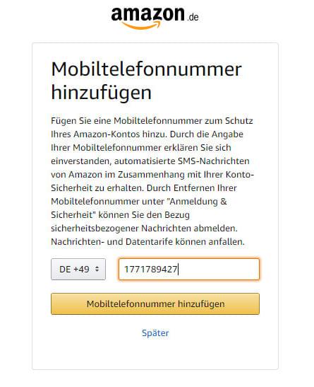 Укажите номер телефона, который получили в сервисе приема смс